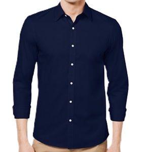 Michael Kors Slim Fit Fine Gauge Knit Button Shirt